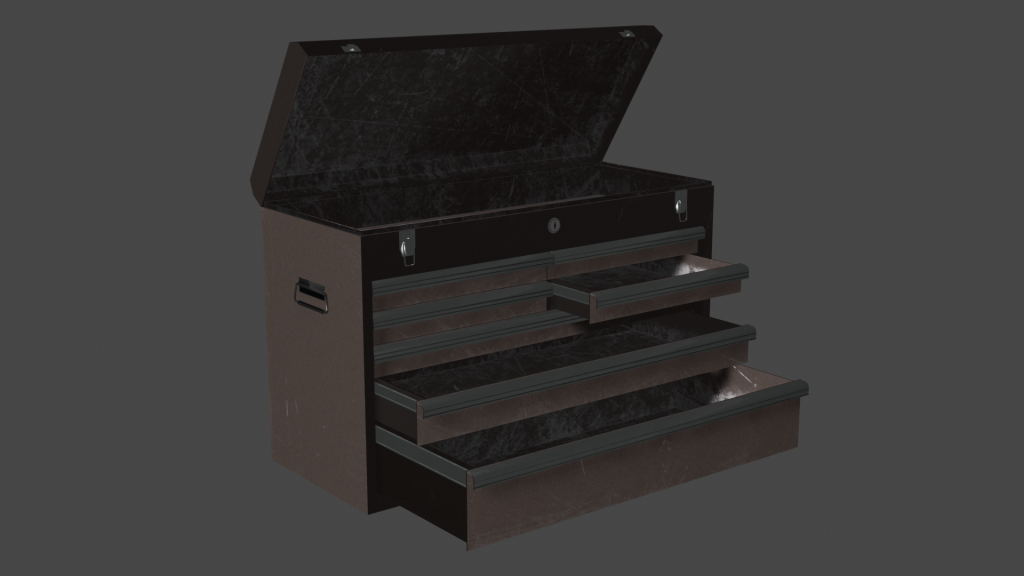 Benchtop Toolchest - Final Open