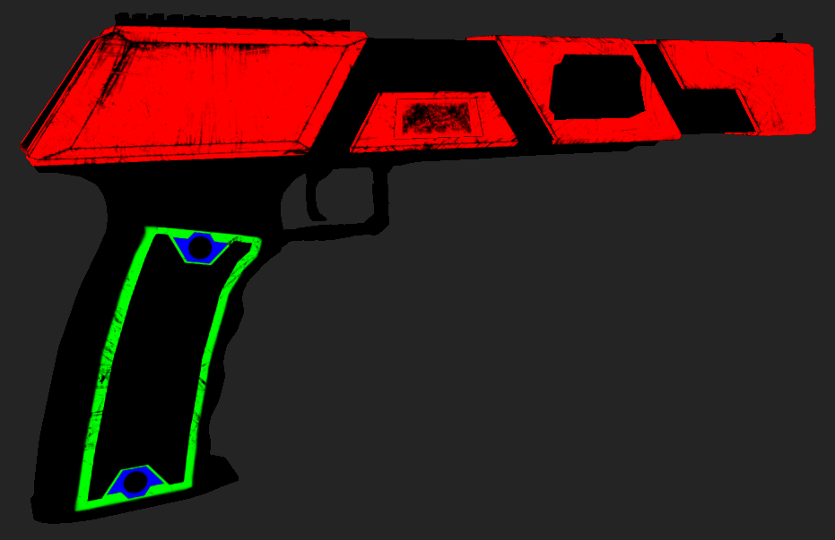 The Color Map for the Recolor Shader