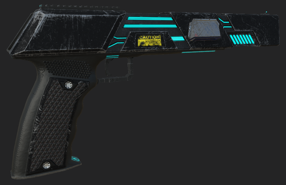 The new Base Color for the Repulsor, to be filled in with the Recolor Shader